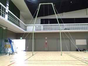 大阪府立大学体育館 つり輪(ロイター型組立式)